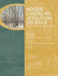 Bosque Landscape Alteration Strategy - Utton Transboundary ...