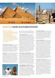 ÄGYPTEN KAIRO & NILKREUZFAHRT - SKR Reisen