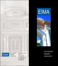 12-page EIMA Booklet