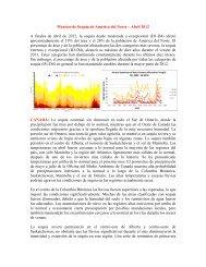 Monitor de Sequía de América del Norte – Abril 2012 A ... - NOAA