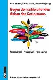Gegen den schleichenden Abbau des Sozialstaats - VSA Verlag
