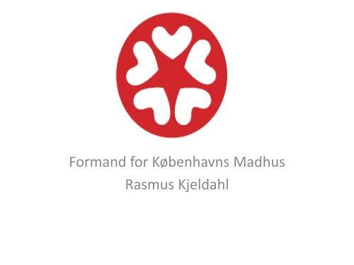Formand for Københavns Madhus Rasmus Kjeldahl