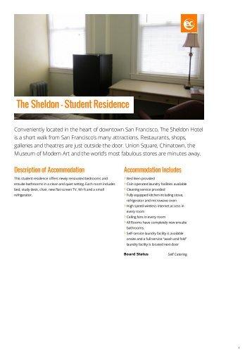 The Sheldon - Student Residence