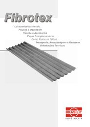 04 Telhas Brasilit Fibrotex.pdf - Histeo.dec.ufms.br