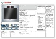 Bosch HBL78B751 Elektro-Einbaubackofen Vorgänger - VS Elektro