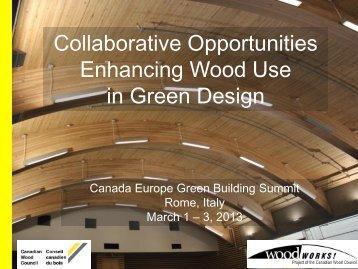 Peter Moonen - Europe Green Building Forum