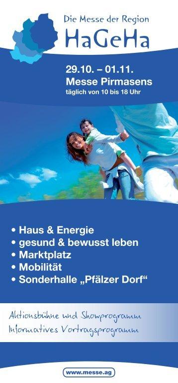 01.11. Messe Pirmasens - VRN Verkehrsverbund Rhein-Neckar