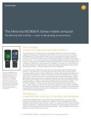 Motorola MC9500 52 Key Keymap - Wavelink