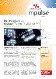 CO2-Reduktion und Energieeffizienz in ... - Stadtwerke Soest