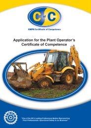 Download CoC Application Form - CMPE