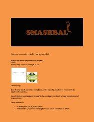 Rucanor recreatieve volleybal set met bal - Smashbal