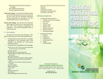 barangay profiling Hospital management system and barangay profiling system in 2014, we developed the engineering permit application submission system installed at electronic terminal in valenzuela city which processed engineering assessment and permit that aims to speed up the process of building permits and eliminate.