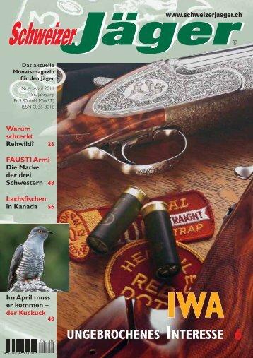 Editorial - Schweizer Jäger