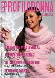 Dicembre 2007 - Profilo Donna Magazine