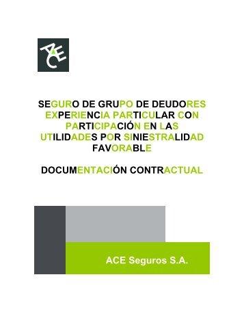 Condiciones Generales Seguro Grupo Deudores ... - ACE Group