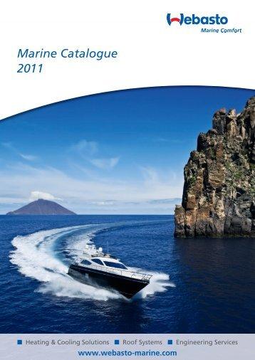 Marine Catalogue 2011 - Webasto