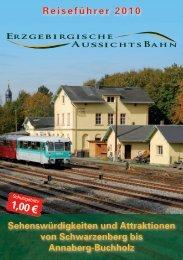 im Wanderparadies! - Eisenbahnmuseum Schwarzenberg