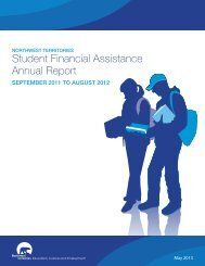 SFA Annual Report 2011/12 - Education, Culture and Employment ...