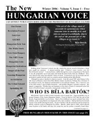THE NEW HUNGARIAN VOICE WINTER 2006 (Read-Only)