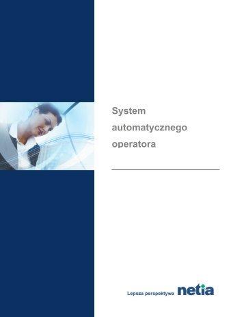 system automatycznego operatora