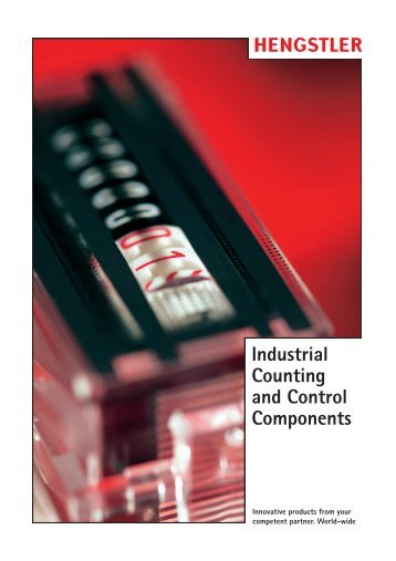 Industrial Counting and Control Components - Hengstler Encoders