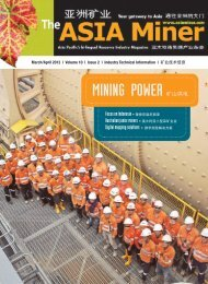Volume 10 Edition 2 2013 - The ASIA Miner