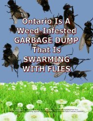 2012 07 03 — GARBAGE DUMP — Ontario - Pesticide Truths
