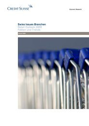 Swiss Issues Branchen - Retail Outlook 2009 ... - VSV Versandhandel