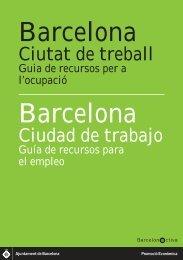 Guia 'Barcelona, ciutat de treball' - Barcelona Activa