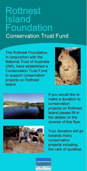 Rottnest Island Foundation - Rottnest Island Authority