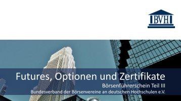 Vortrag - Börsenverein Freiburg eV