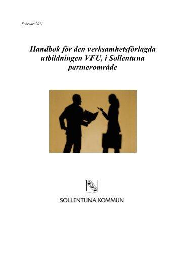 Handbok, uppdaterad februari 2011 - Sollentuna kommun