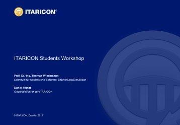 ITARICON Students Workshop 2010 - Hochschule für Technik und ...