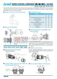 SERIES CONTROL COMPONENT (∅22/∅25/∅30) ISO 9002