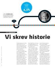 2010-10 Vi skrev historie.pdf - De Offentlige Tandlæger