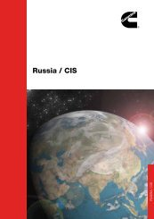 Russia / CIS - Cummins