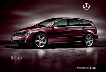 R - Class - Mercedes-Benz Auto Mita