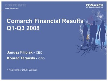 Q3 2008.pdf - Comarch