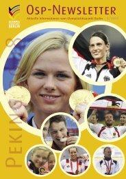 Newsletter 3-2008 - Olympiastützpunkt Berlin