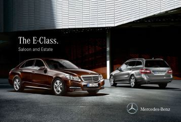 Download a class catalogue pdf mercedes benz brunei for Mercedes benz e class brochure
