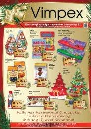 Kellemes Karácsonyi Ünnepeket és Sikerekben ... - Vimpex Drink