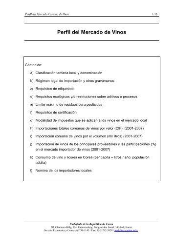 Informe y lista de importadores - Corea.pdf - Wines Of Argentina