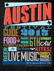 Austin Festival Guide - Independence Title