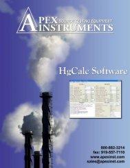 Untitled - Apex Instruments, Inc.