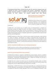 Solar 3G - DNA Cascais