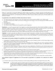 Guide Demande d'inscription au Registre des propriétaires et des ...