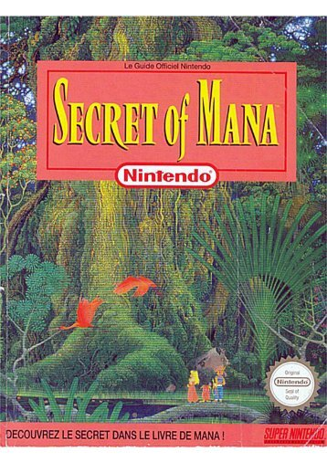 Guide Secret of mana