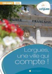 compte ! - Mairie de Lorgues