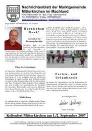 Juni 2007 - Mitterkirchen im Machland