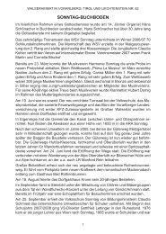 Chronik der Gemeinde Sonntag für das Jahr 2007 - Vorarlberger ...